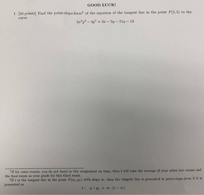 Solved:  This Assignment Constitutes The Third Exam, Which