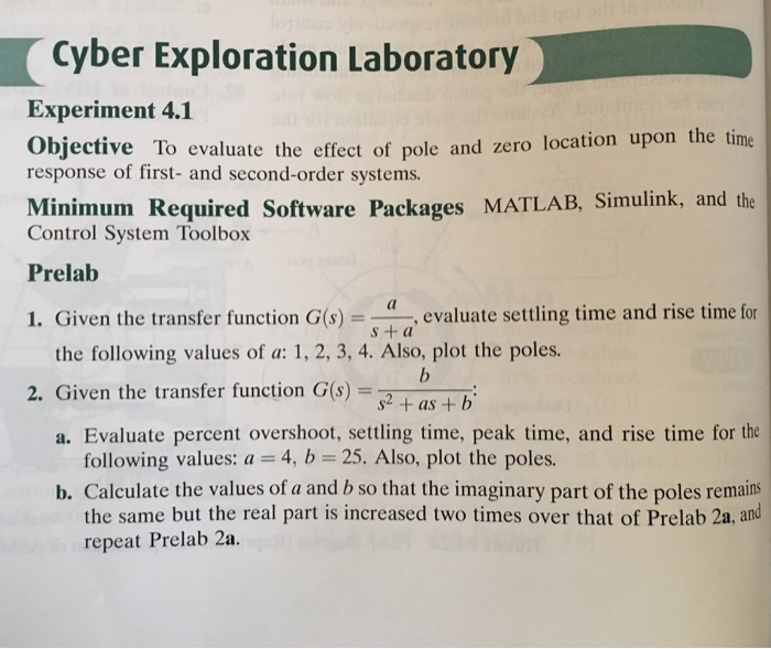 solved cyber exploration laboratory experiment 4 1 object rh chegg com Engineering Laboratory Experiment Laboratory Experiments Chapter 6 Focus Activity