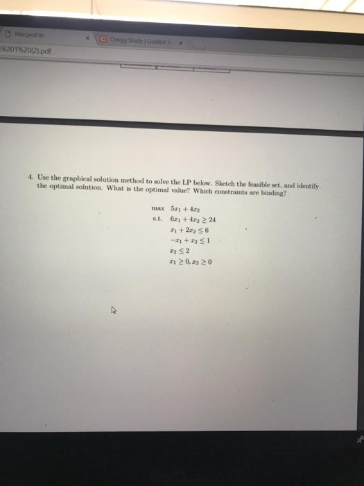 Solved: MergedFile 96201 %20(2) pdf Chegg Study I Guided