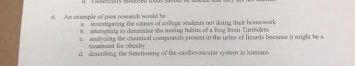 college homework example