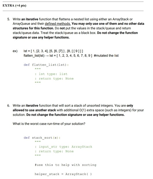 Solved: In Python - Data Structures & Algorithms Import Ct