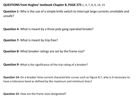 QUESTIONS From Hughes\' Textbook Chapter 8, PAGE 27... | Chegg.com