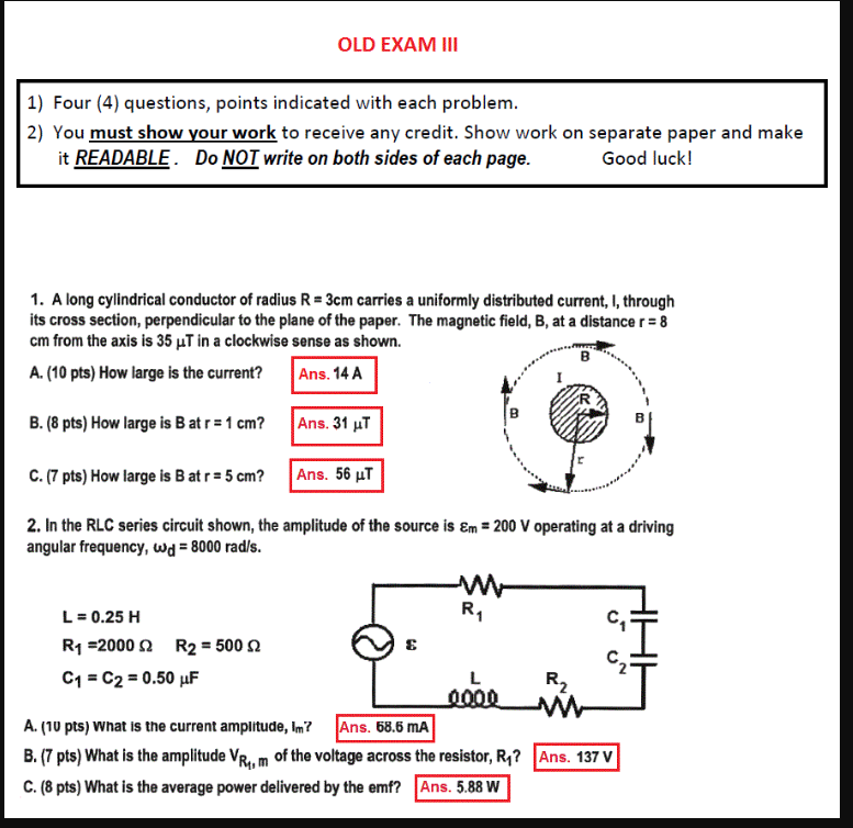 Solved: I Need Help With This Practice Test  When I Use Th