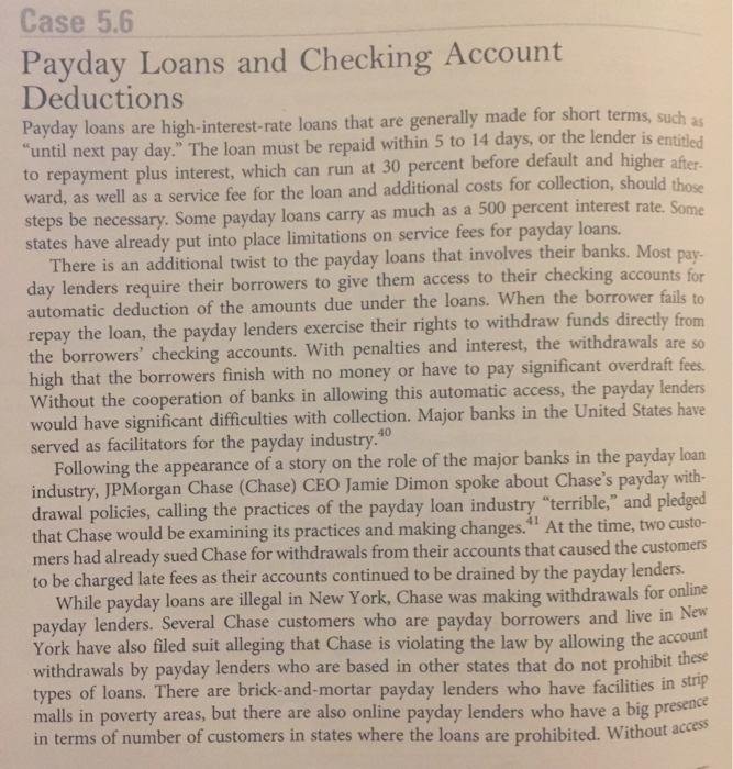 payday borrowing products around people