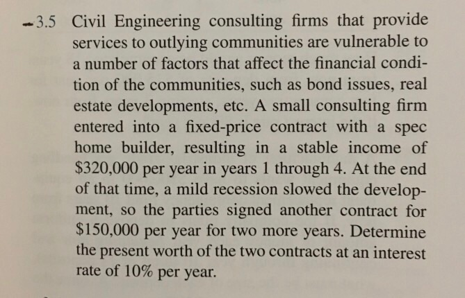 Solved: 3 5 Civil Engineering Consulting Firms That Provid