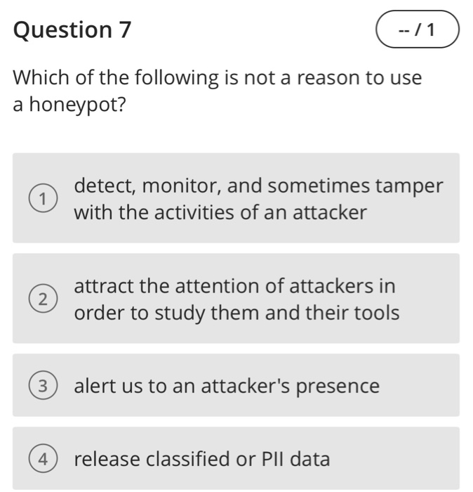 Solved: Question 6 For What Might We Use The Tool Kismet
