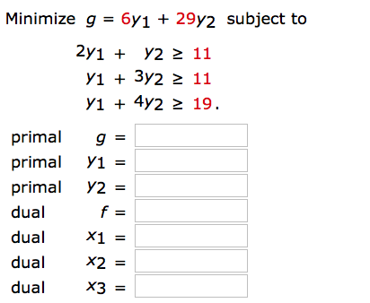 Solved: Write The Dual Maximization Problem, And Then Solv