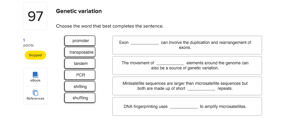 use variation in a sentence