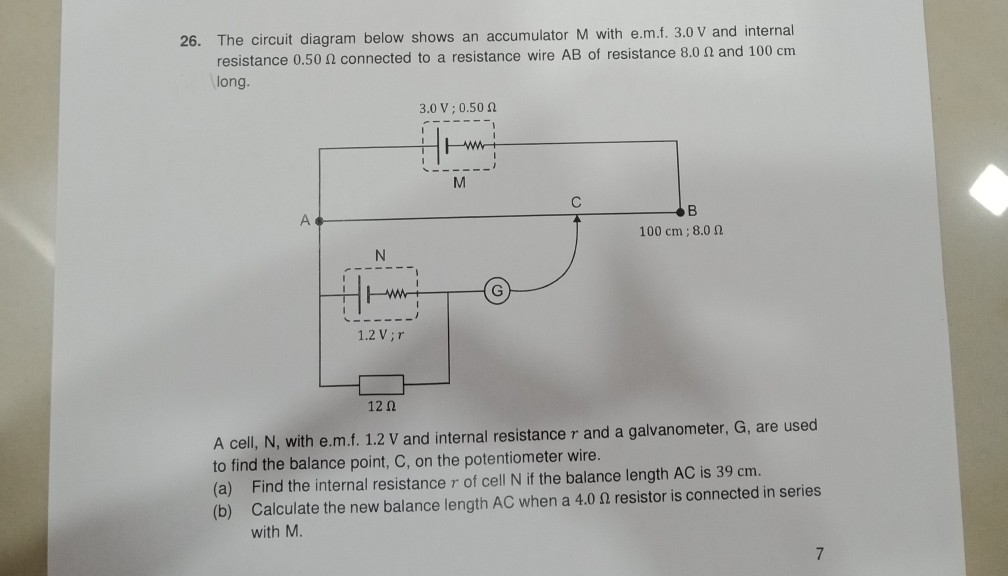 Excellent 26 The Circuit Diagram Below Shows An Accumulator Chegg Com Wiring Digital Resources Otenewoestevosnl