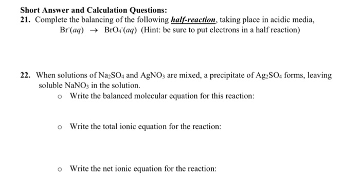 Net ionic reaction calculator