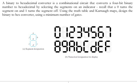 A Binary To Hexadecimal Converter Is A Combination    | Chegg com