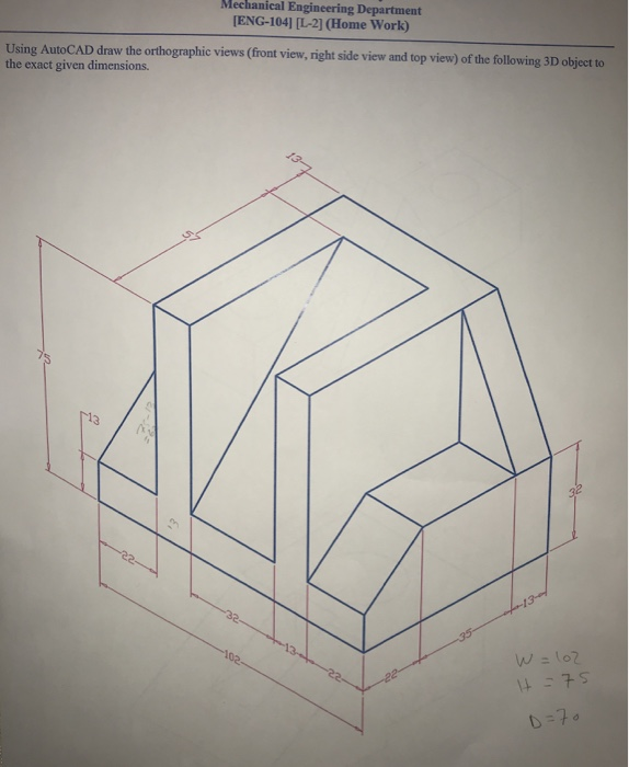 Delightful Mechanical Engineering Department ENG 104] [L 2] (Home Work)