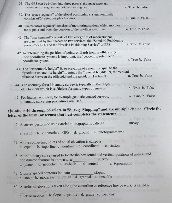 Solved: Questions 1 Through 10 Relate To