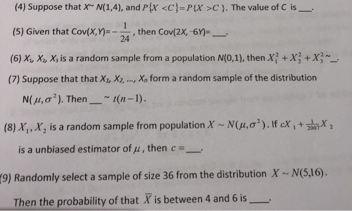 4 Suppose That X N14 And Px