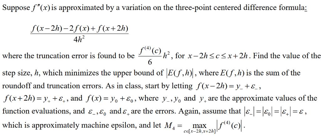 Richardson extrapolation