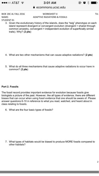 also  together with darwin worksheets evolution   EVOLUTION   Pinterest   Darwin also Evolution  Evolution By Natural Selection Worksheet in addition Solved  Given The Evolutionary History Of The Islands  Doe furthermore Evolution Worksheets High Worksheets for all   Download and as well Free Worksheets Liry   Download and Print Worksheets   Free on together with evolution worksheet answers evidence of evolution homologous together with Name Cl Date SKILL BUI also Chapter 10 Principles Of Evolution Worksheet Answers   Fill Online likewise Chapter 16 worksheets further Ecosystem Crossword Puzzle Lesson Plans   Worksheets as well Solved  Introduction To Evolution Worksheet 1 Name   ID Pr likewise Solved  Introduction To Evolution Worksheet 1 Name   ID Pr additionally  as well Differentiated Video Worksheet  Quiz   Ans  for Bill Nye   Evolution. on evolution starts with worksheet answers