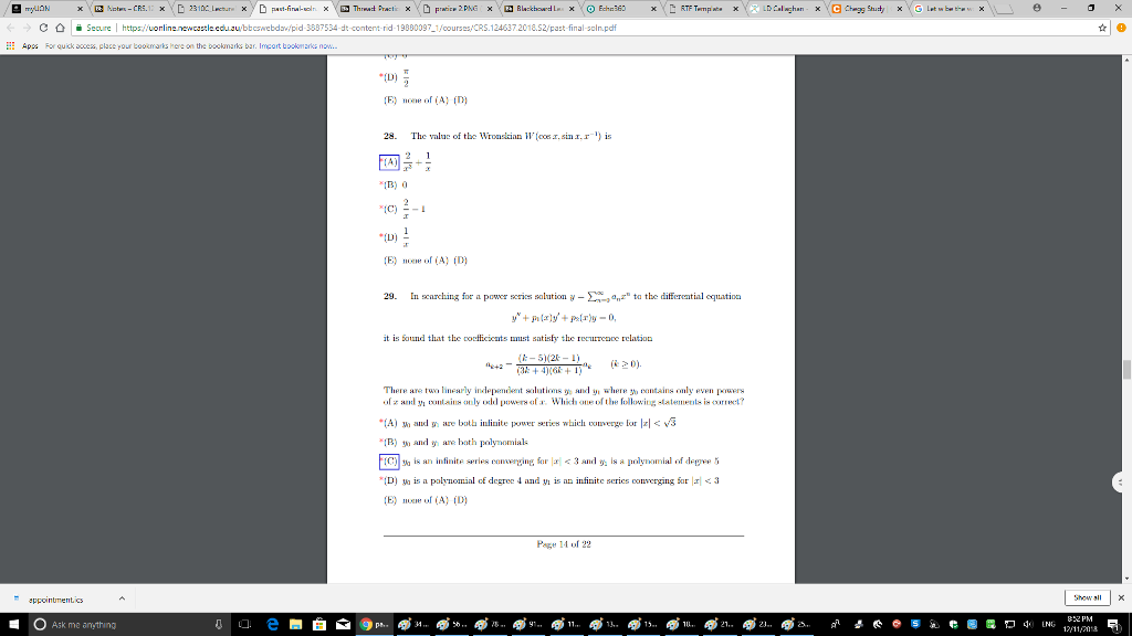 Solved: PLease Provide The Worked Out Solution The Value O