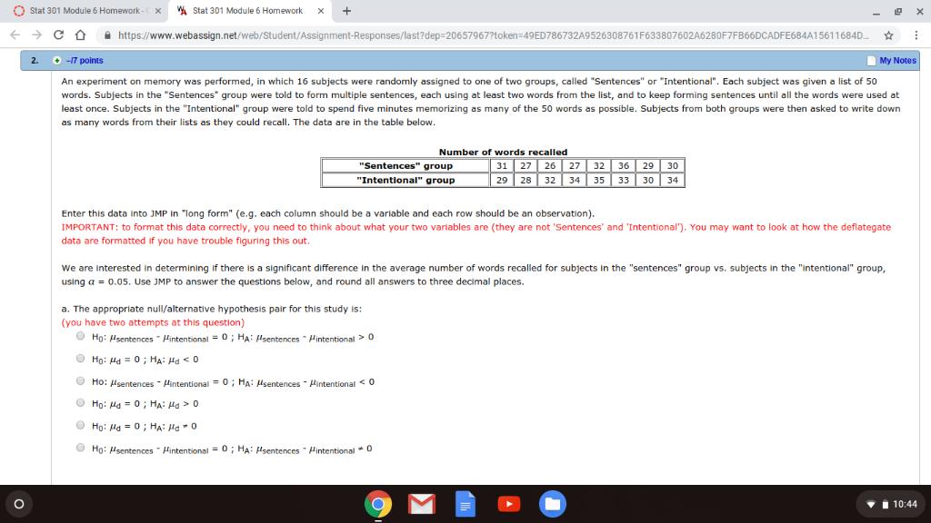 3b4fa3c04 O Stat 301 Module 6 Homework- 붰 Stat 301 Module 6 Homework X → с ...