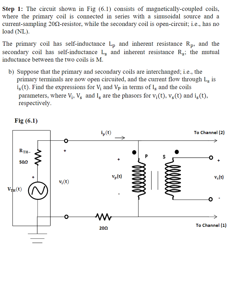 step 1 the circuit shown in fig 61 consists of cheggcom