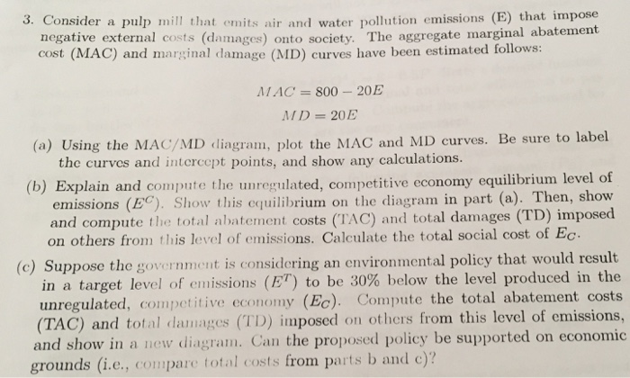Economics recent questions chegg 3 consider a pulp mill that emits air and water pollution emissions e fandeluxe Images