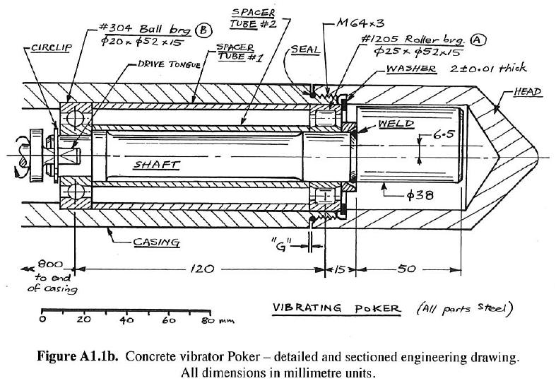 a concrete vibrator includes an eccentric (head) e chegg com