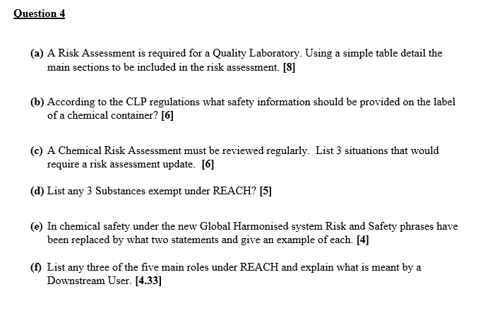 explain why risk assessments need to be regularly revised