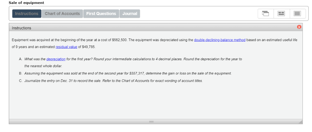 solved chart of accounts general ledger assets 110 cash 1