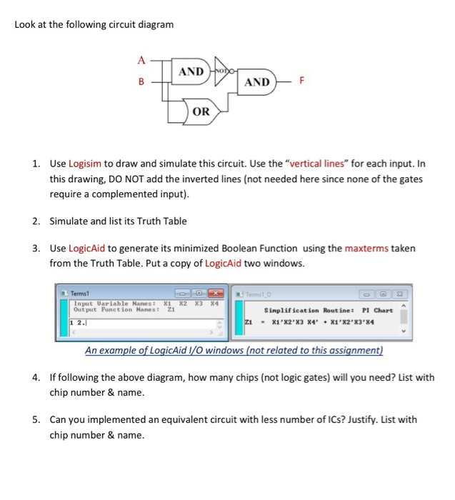 Solved: Look At The Following Circuit Diagram AND Ho ANDF ...