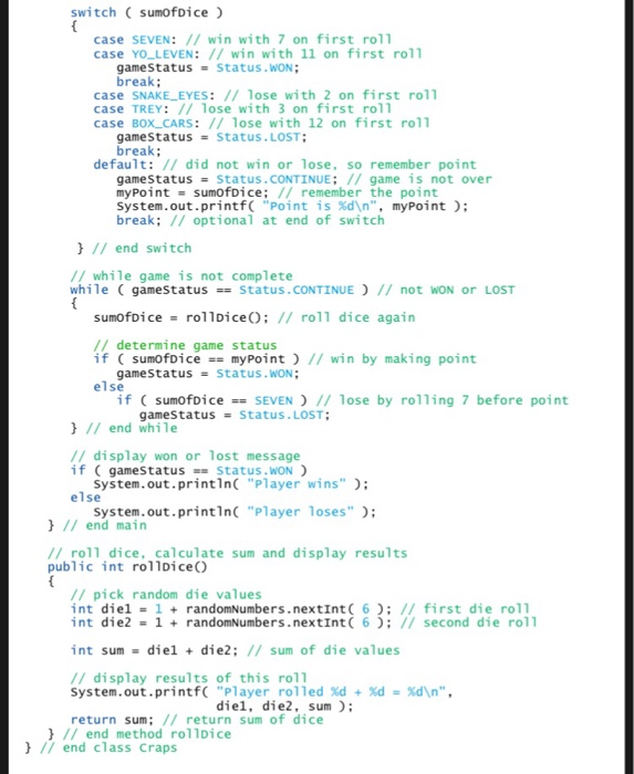 Solved: Obiectives: Java Methods And Arrays (chapters 6 An
