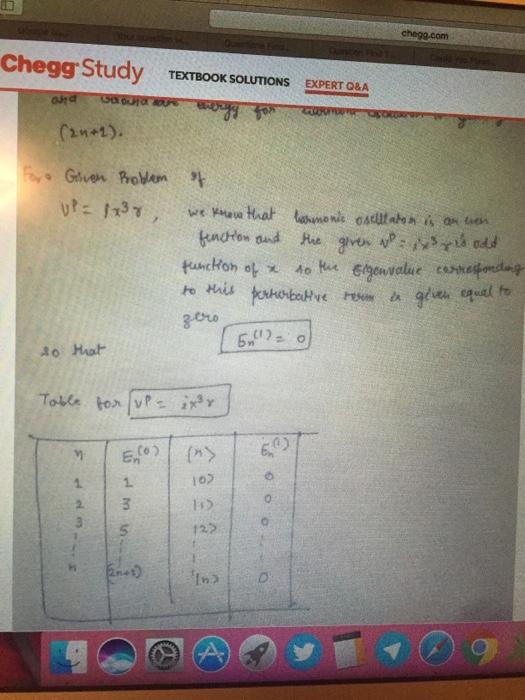 Solved: Chegg com Chegg Study EXTBOOK SOLUTIONS EXPERT Q&A
