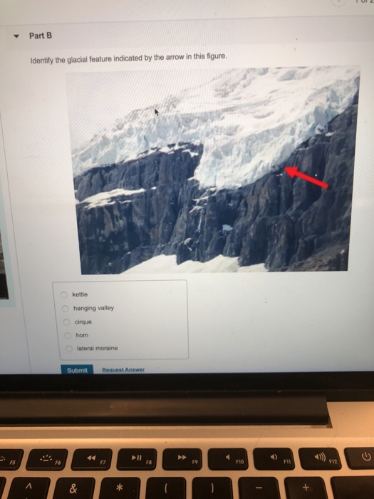 What Is The Name Of The Feature Indicated By The Arrow In This Photo