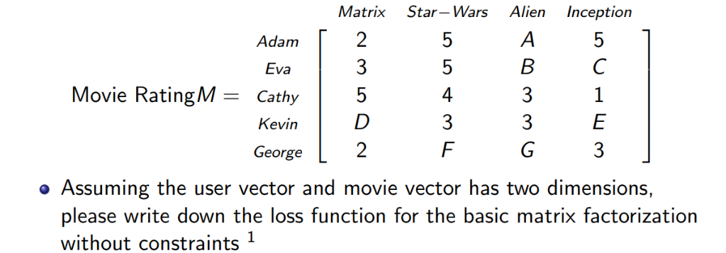 Matrix Star-Wars Alien Nception Adam2 Eva Movie Ra    | Chegg com