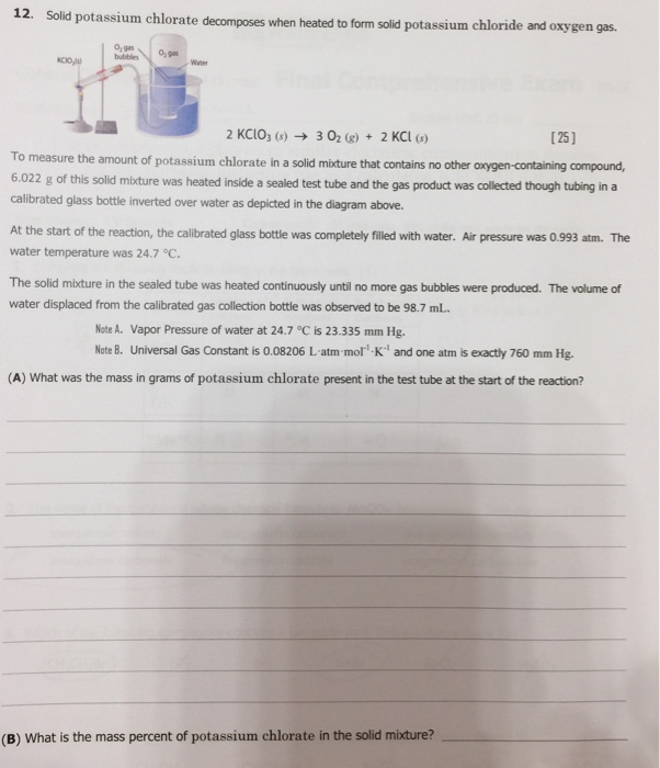 what is the percentage of oxygen in kclo3