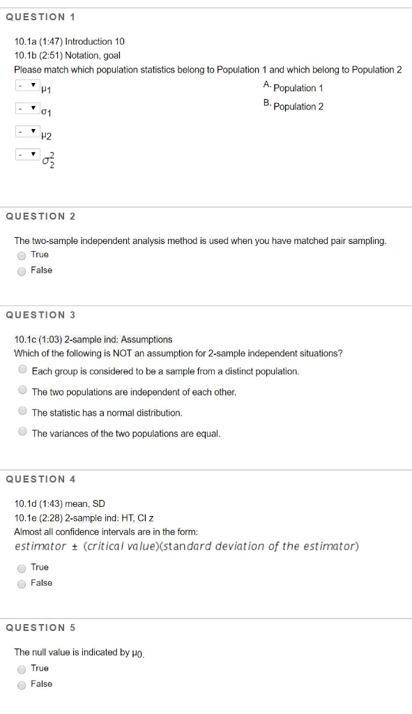 Solved QUESTION 1 101a 147 Introduction 10 101b 25