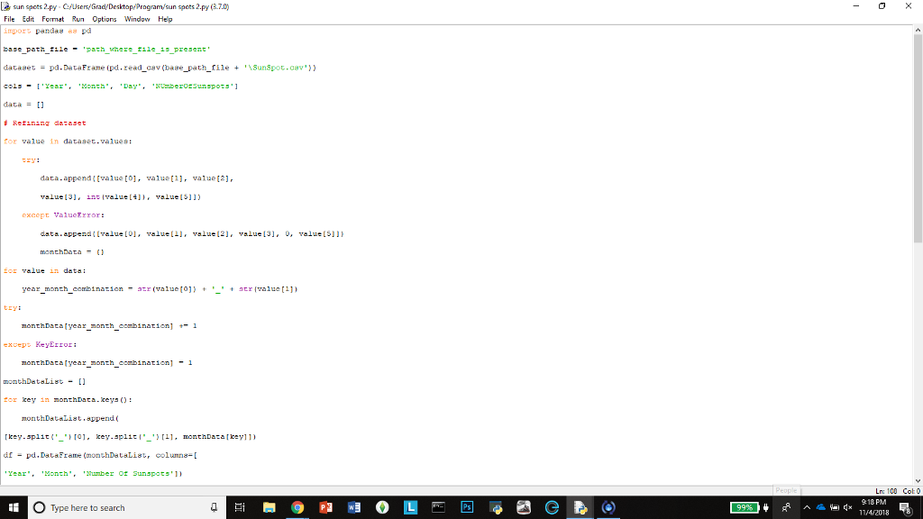 Here's My Code Import Pandas As Pd Base_path_file