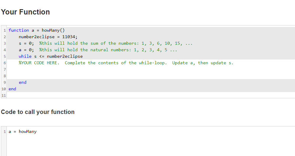 Solved: USE MATLAB This Basic Problems Applies The While-l