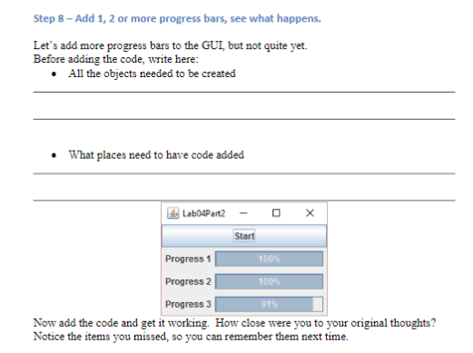 Part 2 - How Much Progress Are You Making? Upon Cl
