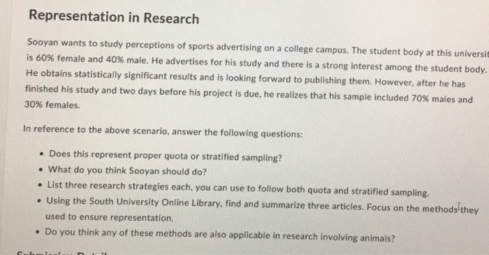 college research questions