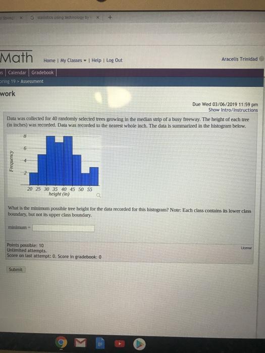 Solved: × G Statistics Using Technology By, X1 + Math Arac