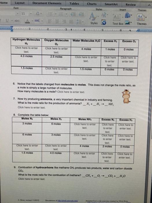 basic stoichiometry phet lab homework exercises answers