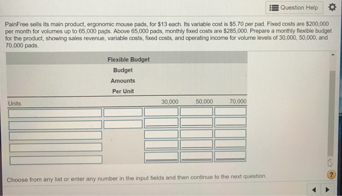 c1d066292eeb0 Question Help   PainFree Sells Its Main Product
