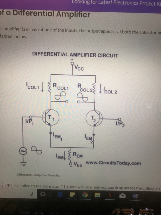 Solved: Looking For Latest Electronics Project Ki F A Diff ...