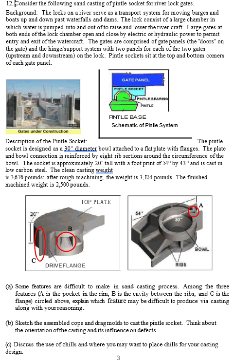 media%2Ff8b%2Ff8bceebc 934e 40a9 ab9a e80c684665b6%2FphpSG1AbX solved 12 consider the following sand casting ofpintle s