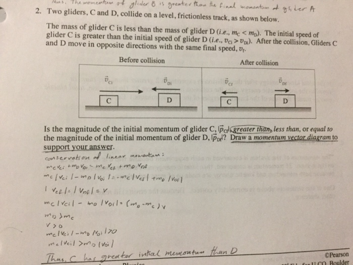 Solved i only need a drawing of the momentum vector diagr question i only need a drawing of the momentum vector diagram initial final and change in momentom for c ccuart Choice Image