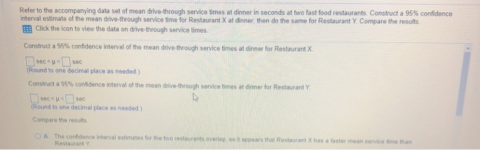 compare restaurants