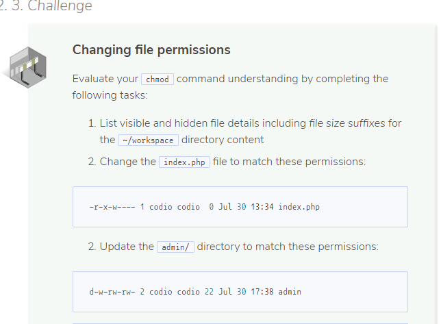 Solved: 3  Challenge Changing File Permissions Evaluate Yo