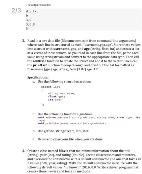 Solved C Fundamentals Ob U In Command Line Args Read A
