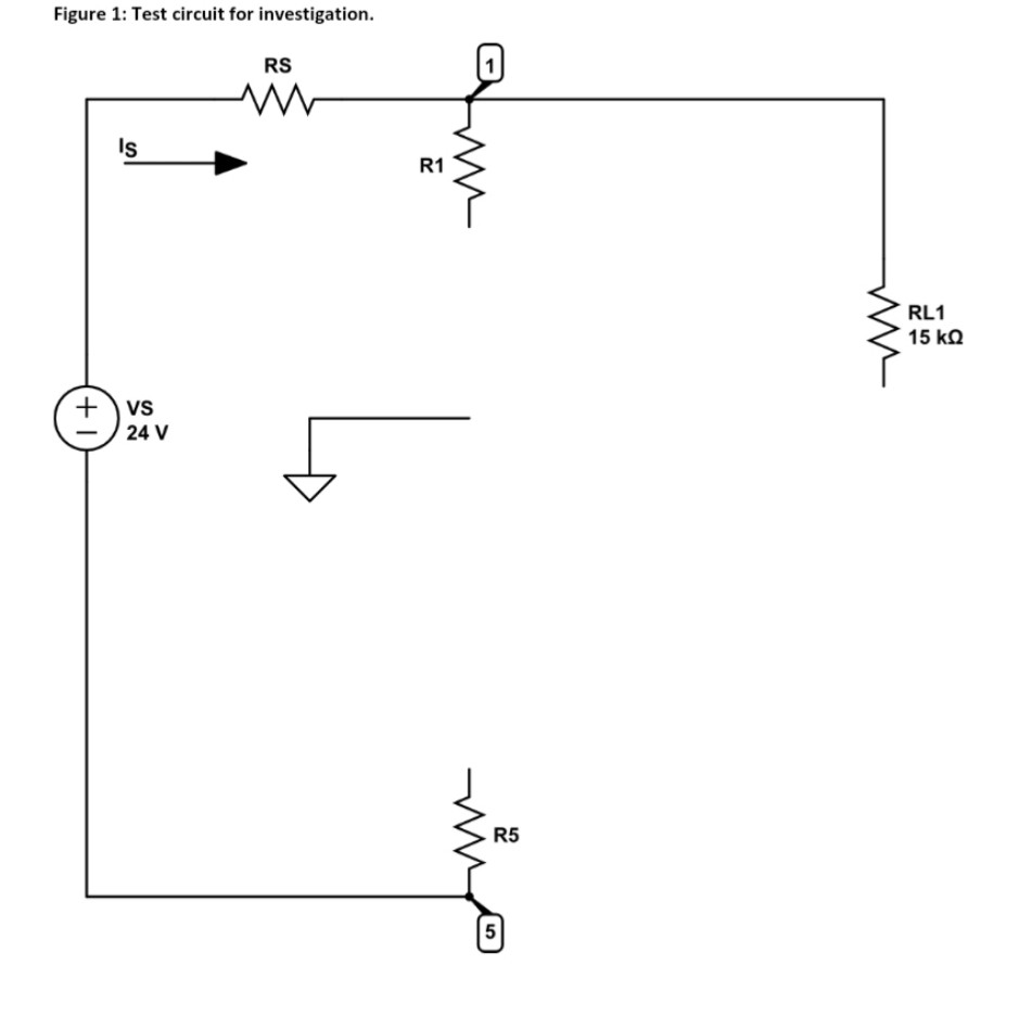Incredible Solved Complete The Loaded Voltage Divider Circuit Diagra Wiring Digital Resources Bemuashebarightsorg