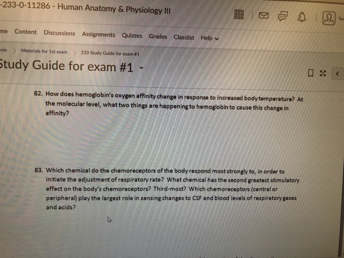 Solved 233 0 11286 Human Anatomy Physiology Iii Me Con