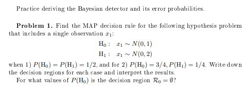 Practice Deriving The Bayesian Detector And Its Er ... on education map, opportunity map, process map, war map, love map, solution map, christianity today map, communication map, argument map, power map, behavior map, thought map, topic map, leadership map, persuasion map, data map, idea map, election map, question map, research map,
